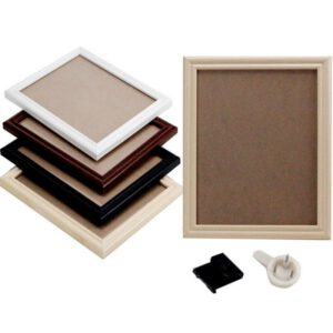 6 Inch Photo Frame For Picture Wooden Photo Frame Display Wall Hangings Wedding Wall Decor Graduation Party Photo Booth Props