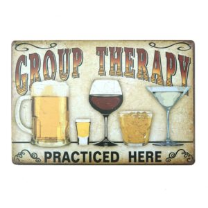 Vintage Beer Metal Plate Painting Wall Decor for Bar Pub Kitchen Home Poster Plate Metal Signs Painting Plaque 20x30cm