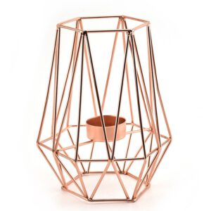 2019 Nordic Style Wrought Iron Geometric Candle Metal Craft Home Decoration Brackets Home Decorate Metal Crafts Candle Holder