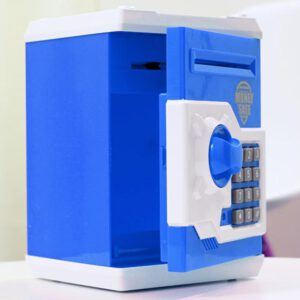 Electronic Piggy Bank ATM Password Money Box Cash Coins Saving Box ATM Bank Automatic Deposit Safe Box Kids Gift