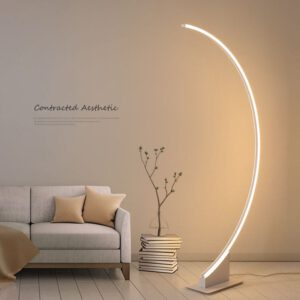 LED floor lamp table lamp stylish simple modern living room floor light nordic style bedroom light ins radian lamps