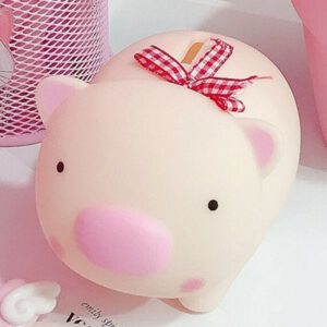 Piggy Bank Money Box Saving Cash Coin Cute Cartoon Animal Kids Toy Gifts Baby Room Desktop Decorative Nursery Ornaments