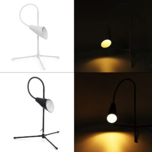 7W Indoor Floor Lamps 110-220V Adjustable/Dimmable Height For LED Light Clamp Dimmable Reading Desktop Lamp Tripod Study Room