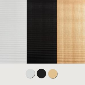 Self-Adhesive Pleated Blinds Curtains Half Blackout Curtains for Bathroom Balcony Shades Living Room Window Home Decor