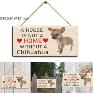 Rectangular Wooden Pet Tag Dog Wooden Plaque Pendant Dog Tags Animal Sign Plaques Rustic Wall Decor Home Decoration