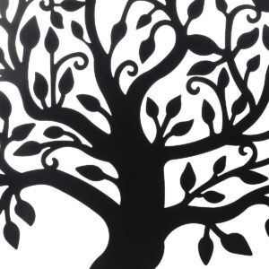 99cm Tree of Life Family Tree Sign Wall Silhouette Wood Wall Hanging Decor Home Office Bedroom Living Room Decor Sculpture