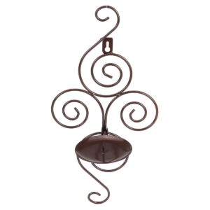 2Pcs 18x12x38CM Iron Metal Candle Tea Light Candlestick Holder Sconce Home Decor European