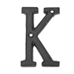 Metal Digital Numbers Cast Iron House Sign Doorplate DIY Cafe Wall Decor DIY Accessories