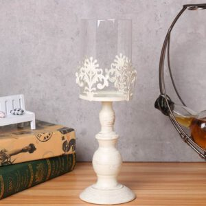 Glass Lantern Cover Candle Holder Wedding Centerpieces Home Table Decoration Nordic Style Candlesticks Candle Stand