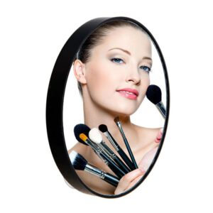 5/10/15X Magnifying Mirror Bathroom Mirror Pimples Pores With Two Suction Cups Makeup Tools Round HD Cosmetic Mirror