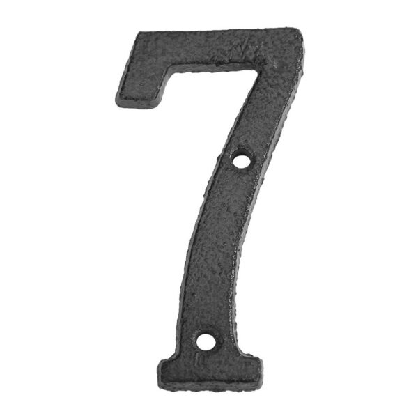 0-9 Metal Digital Numbers Cast Iron House Sign Doorplate DIY Cafe Special personality Shop Wall Decor Family Garden Store Gift