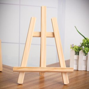21x28cm Wood Easel Artist Art Easel Craft Wooden Adjustable Table Card Stand Display Holder Calendar Display Rack Wedding Table