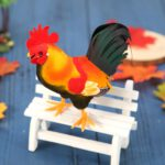 1 PC Simulation Foam Pigeon Rooster Model Fake Artificial Imitation Bird Animal Home Garden Ornament Miniature Decoration