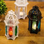 High-Quality-Candle-Holder-European-Style-Iron-Glass-Candlestick-Lantern-Candles-Lantern-Transparent-Glass-Free-Shipping