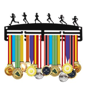 3 Layers Medal Hanging Holder Rack Hanger Bracket Wall Medals Display Hooks Running Competition Challenge Home Office Wall